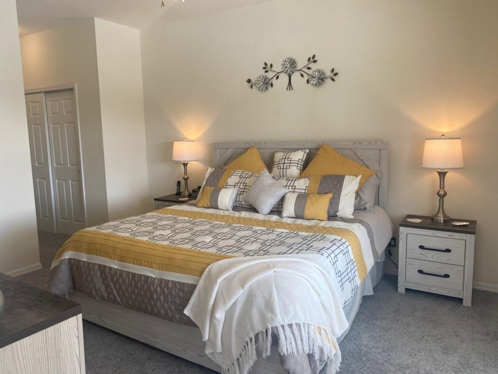 Modern 1st Master Bedroom