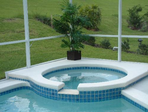 Luxuriate in the spa