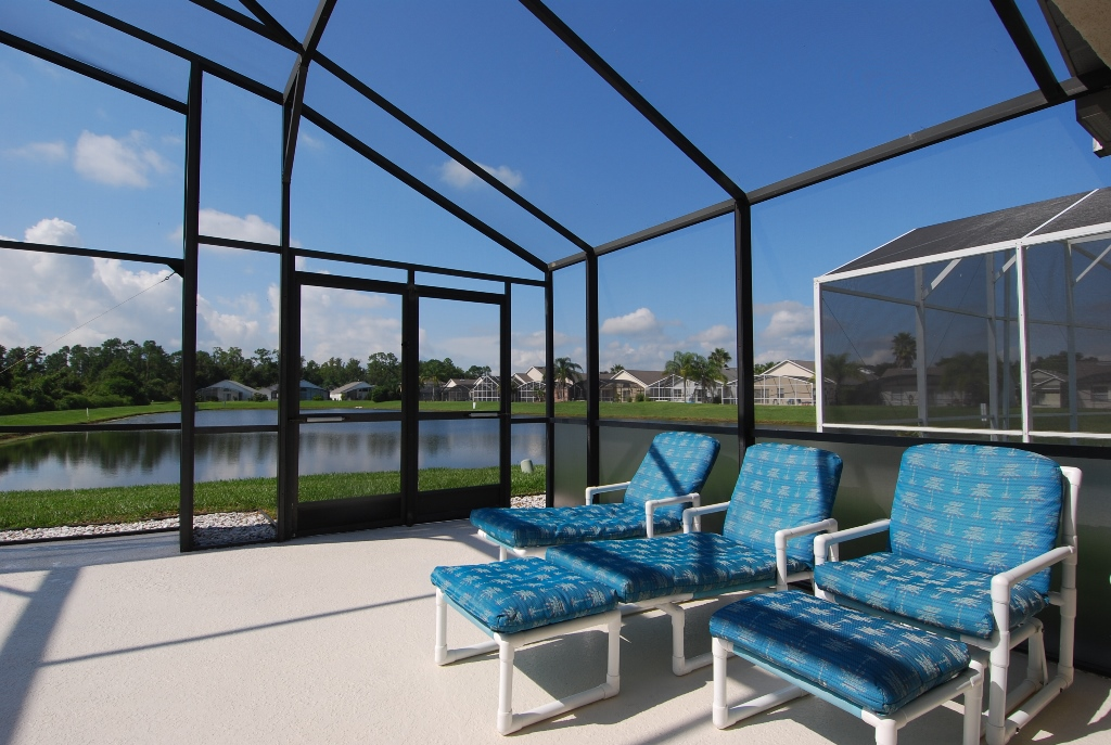 Large extended deck