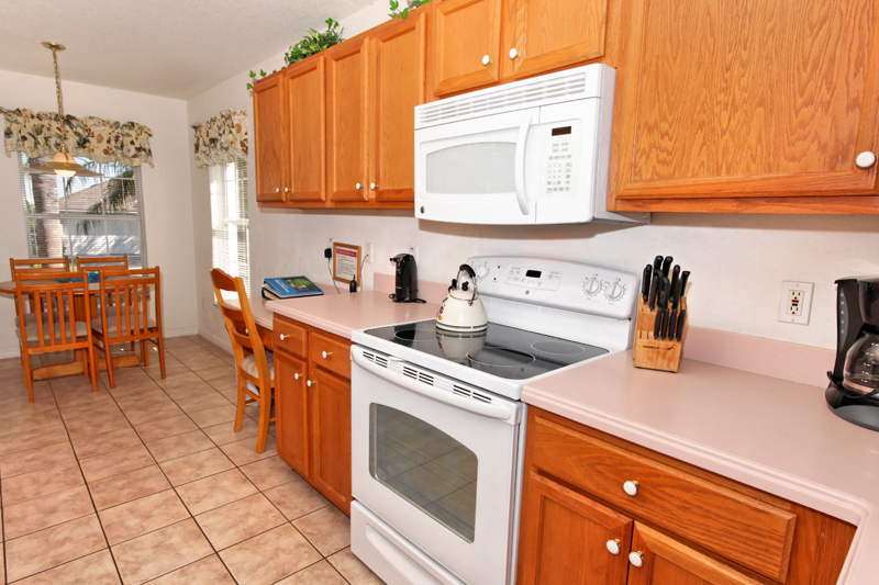 Kitchen with all conveniences
