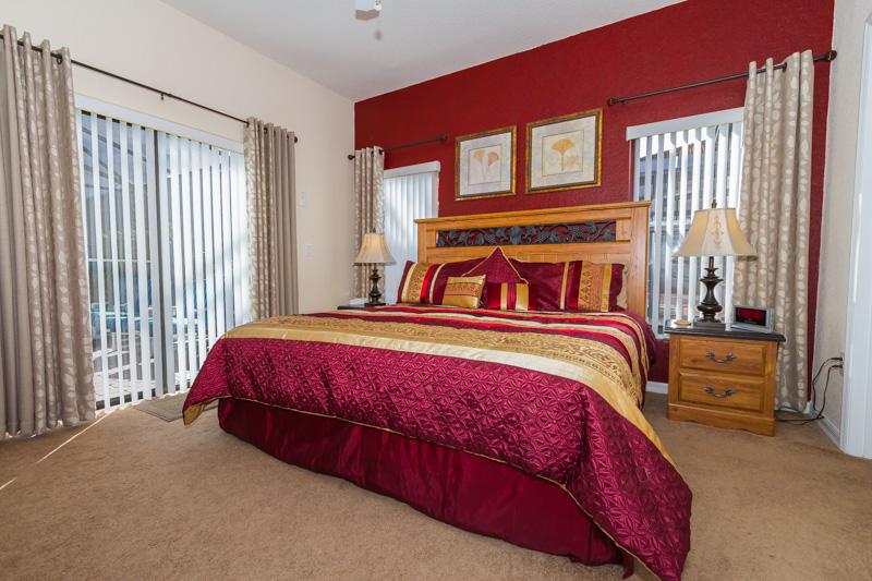 Opulent king master suite