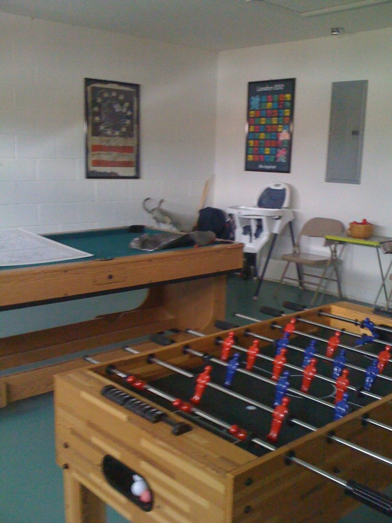 Games area