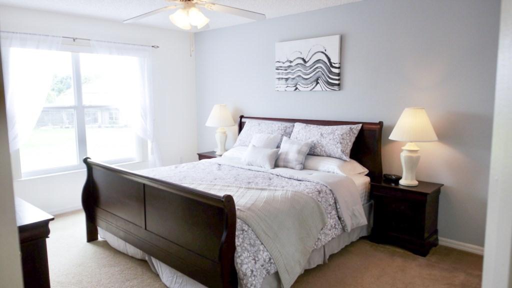 Gorgeous Master Bedroom!