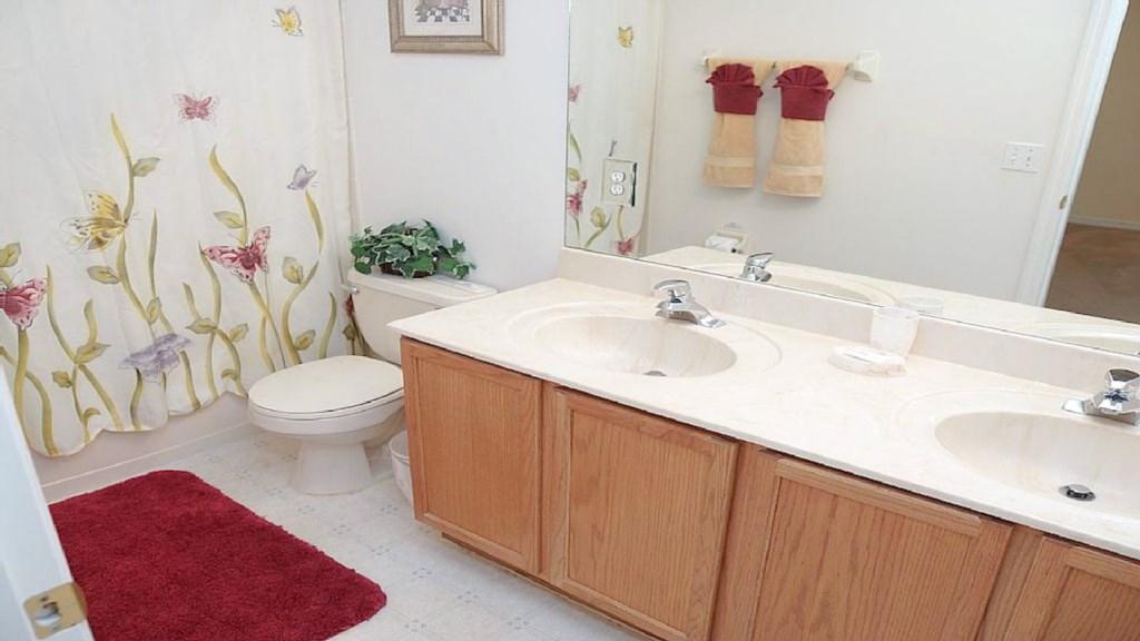 Upstairs Shower & Bath