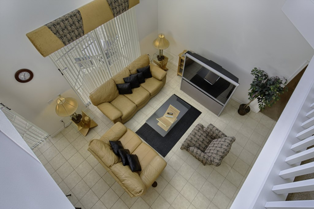 Family Room from upstairs