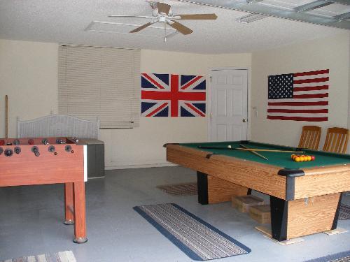 Games Room - Foosball, Darts..