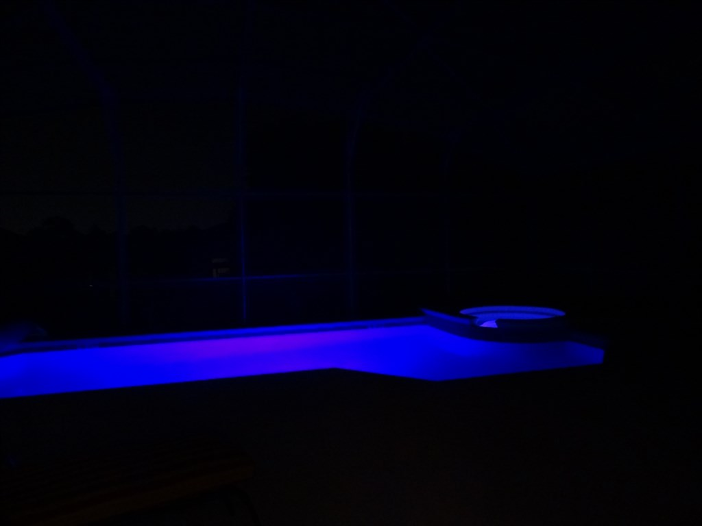 Coloured pool lights