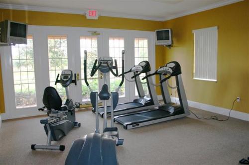 Solana clubhouse gym