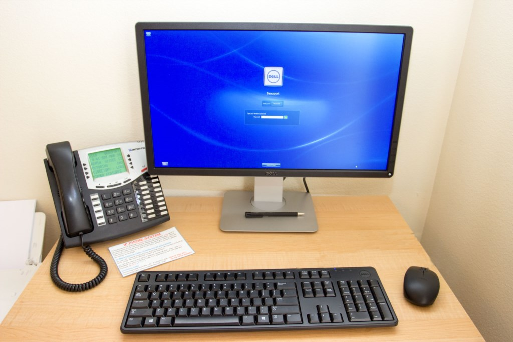 Dell PC and IP Phone