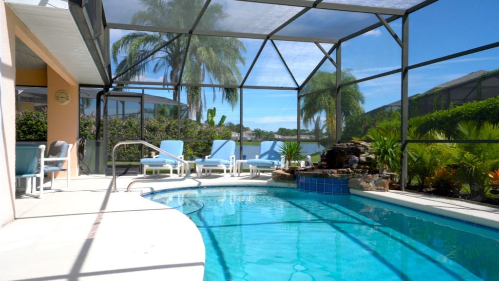 Sunset Retreat Pool