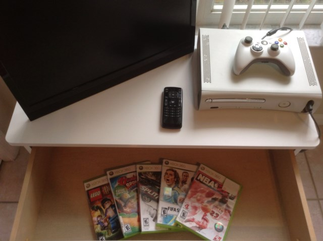 XBox and selection of Games