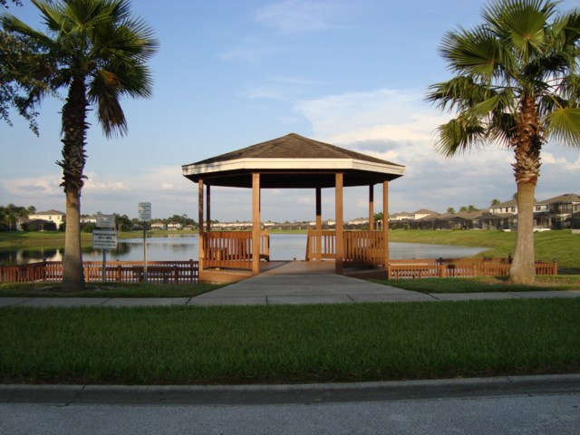 Gazebo and Fishing Dock