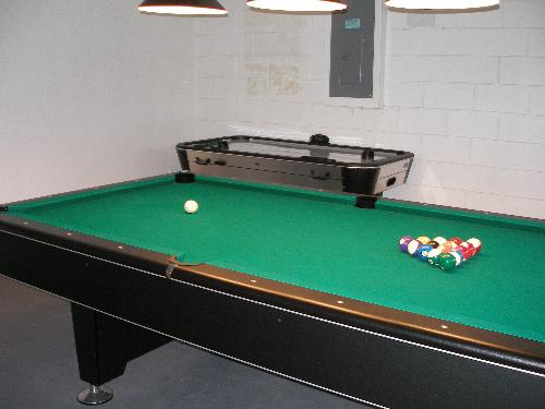 Games Room - Air Hickey Table