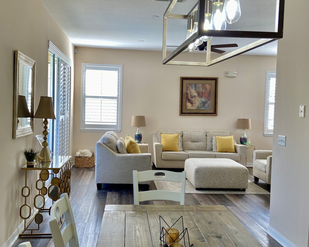 Open Living room concept