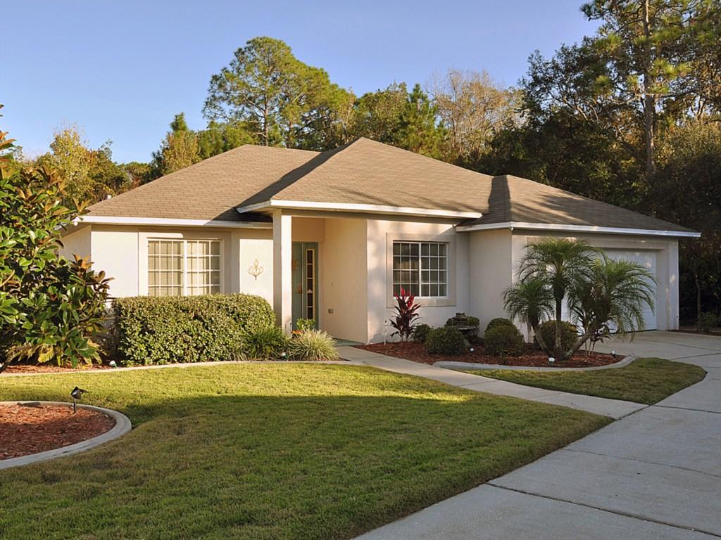 The secluded Breezy Oak Villa,