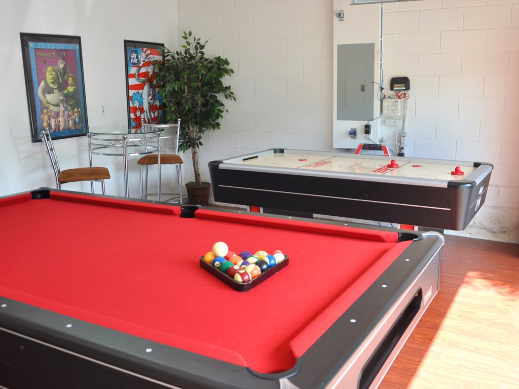Your very own games room with