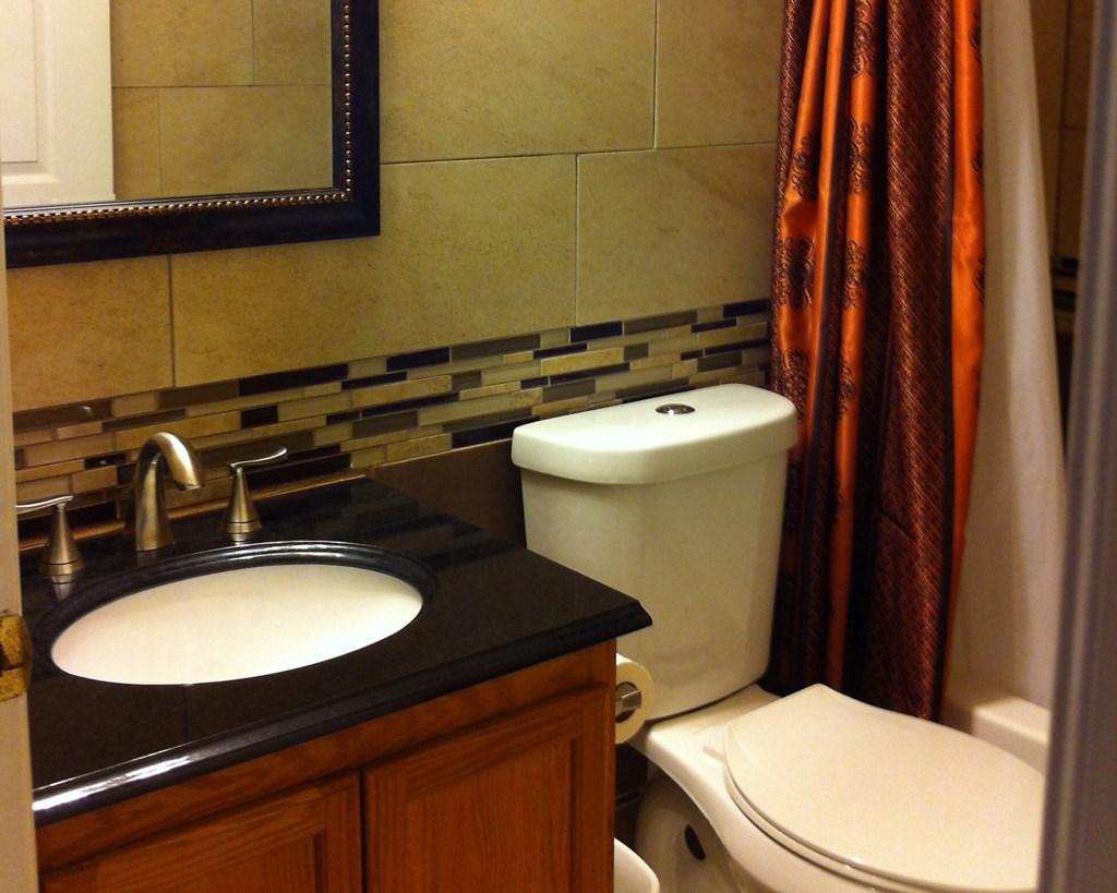 Main bathroom renovated Decemb