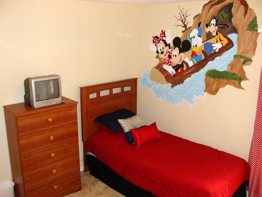 Custom decorated Mickey twin b