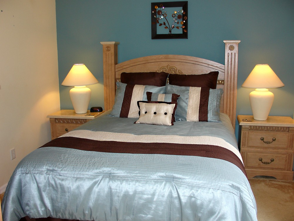 2nd Queen master suite with lu