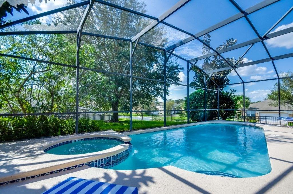 Beautiful SW facing Pool