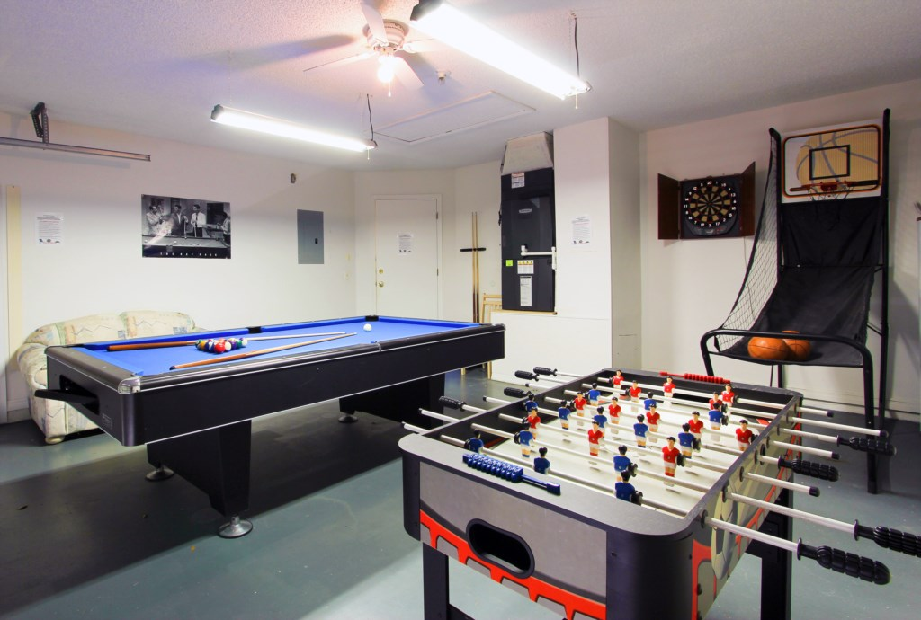 Games room for some fun
