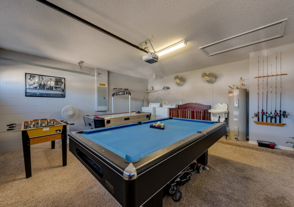 game room with A/C