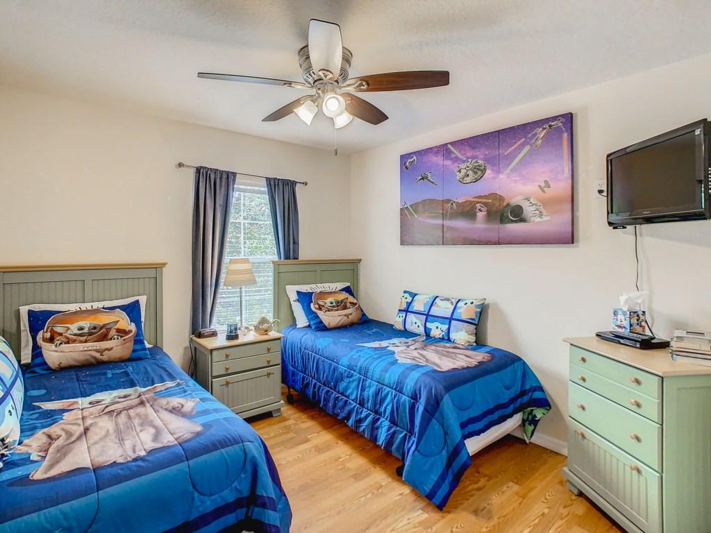 Star wars themed bedroom!