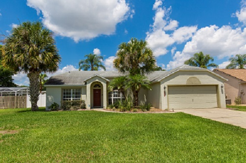 Pool Area with large outside P