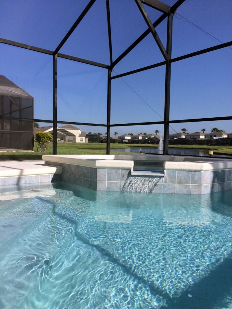 Pool & Spa View