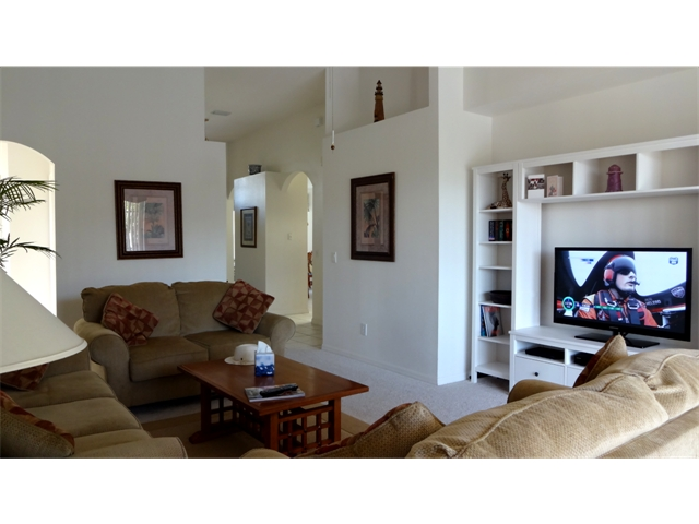 Family Room with HDTV